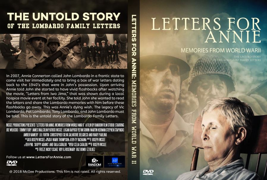Letters for Annie: Memories from World War II – The Untold Story of
